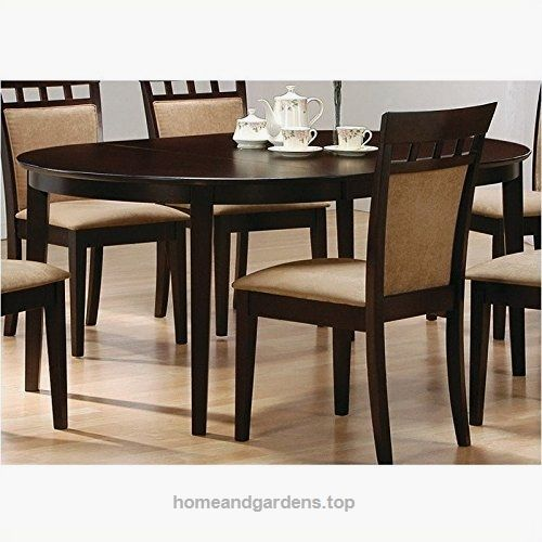 25 best ideas about oval dining tables on pinterest round dining tables dining table with. Black Bedroom Furniture Sets. Home Design Ideas