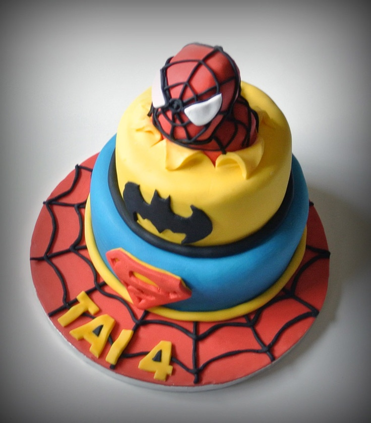 18 best Diegos birthday cake images on Pinterest Marvel cake