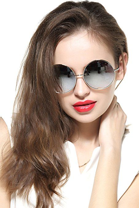 If you are like me then its absolutely important to have a pair of trendy sunglasses for women with me at all times. Especially true for those of us who live in the desert southwest. Luckily you can have great eye protection while looking adorable  Trendy Sunglasses for Women oversized women's sunglasses heart shaped aviator sunglasses heart shaped sunglasses women     GEELOOK Oversized Round Circle Mirrored Hippie Hip