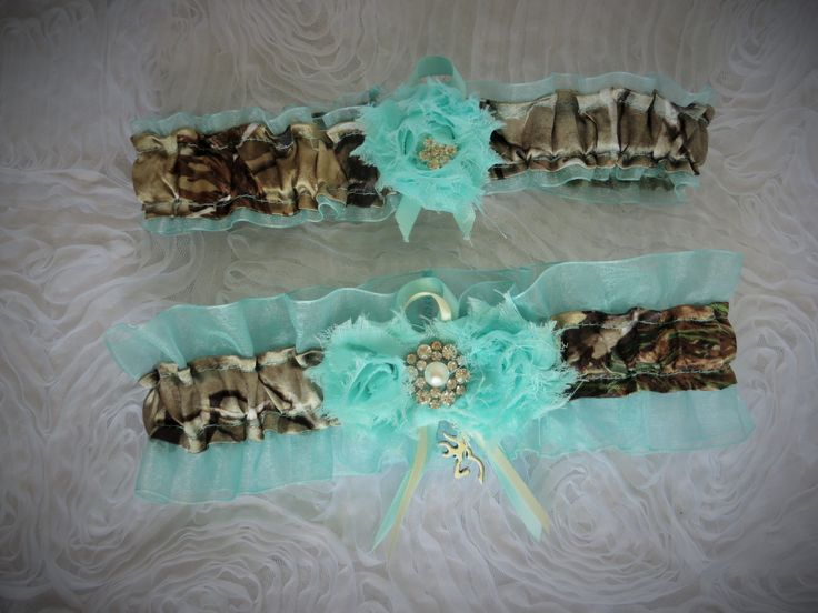 "The ""hunt"" is over and you're getting hitched! This is the perfect way to incorporate the love of ""all things camo"" into your wedding in a contemporary and tasteful way. These stunning camo wedding se"