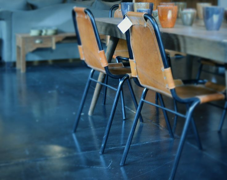 Lederen stoelen #interieur #stoel #lederenstoel