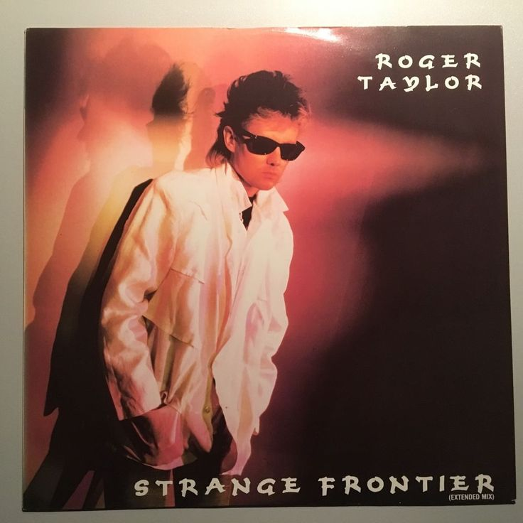 """Roger Taylor - Queen - Strange frontier -UK- 12"""" maxi extended two sharp pencils"""