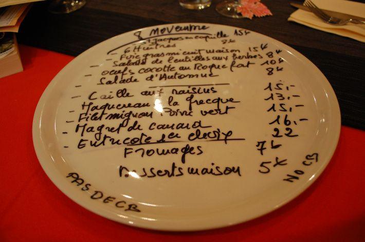 Restaurant Le Saint Roch, Pézenas