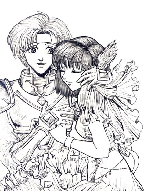 137 best Anime Coloring pages images on Pinterest ...