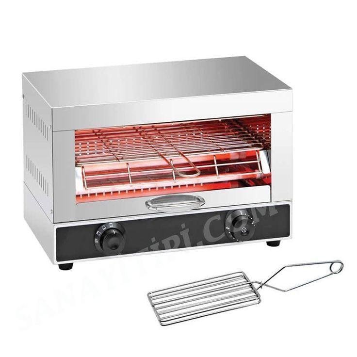 Ekmek Kızartma Makinası » Konveyörlü Ekmek Kızartma Makineleri - Sanayi tipi