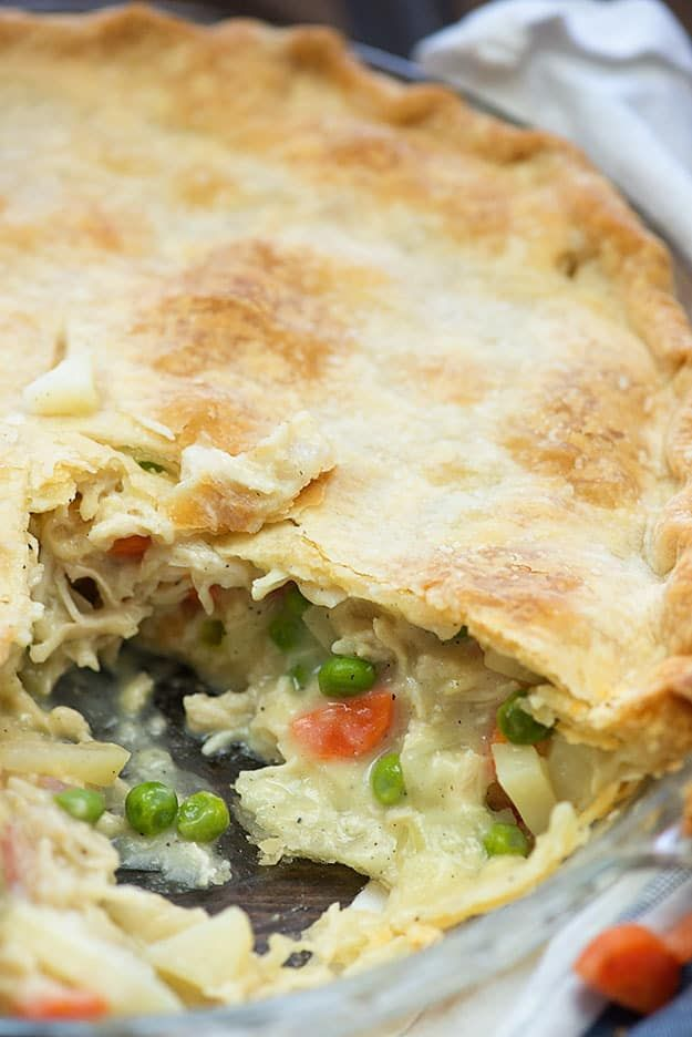 This easy chicken pot pie is always a family favorite. It's the perfect comfort food for any occasion. When my son was younger, he went through a serious chicken pot pie phase. Of course, back in those days, I wasn't much for cooking. I mean, sure. I made frozen pizzas and the occasional box of …