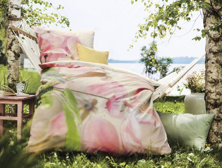 au ergew hnlich sch ne bettw sche kommt aus der reihe bed art von fleuresse hier mit einem. Black Bedroom Furniture Sets. Home Design Ideas