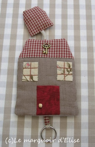 20 best Veronique Requena images on Pinterest   Cottages, DIY and ... : key cover quilt - Adamdwight.com
