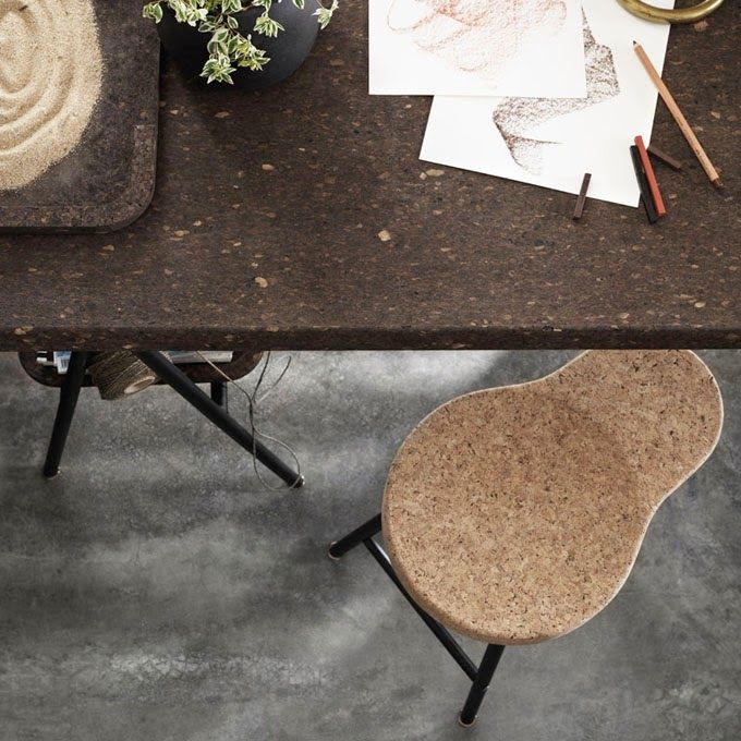 by ilse crawford for ikea cork stool - Cork Cafe Decor