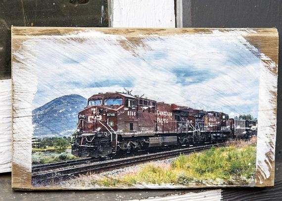 Hey, I found this really awesome Etsy listing at https://www.etsy.com/ca/listing/583353579/cp-train-in-kamloops-wall-hanging