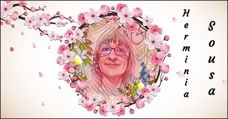 """Como você ficaria em um mar de flores de cerejeira? """"Com cara de idosa! ;-) eheheh""""... «Herminia, as flores de cerejeira banham as ruas com um rosa suave, e as cidades acinzentadas de repente se tornam alegres e brilhantes. Agora todo mundo sabe que o verão está chegando. As flores revelam o tipo de pessoa que você é! Elas mostram que você também é uma pessoa iluminada e alegre.»"""