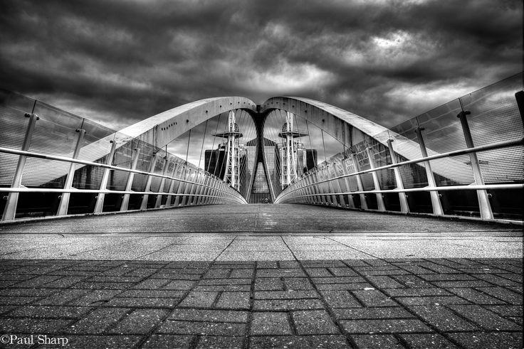 Salford bridge ll by Paul Sharp on 500px