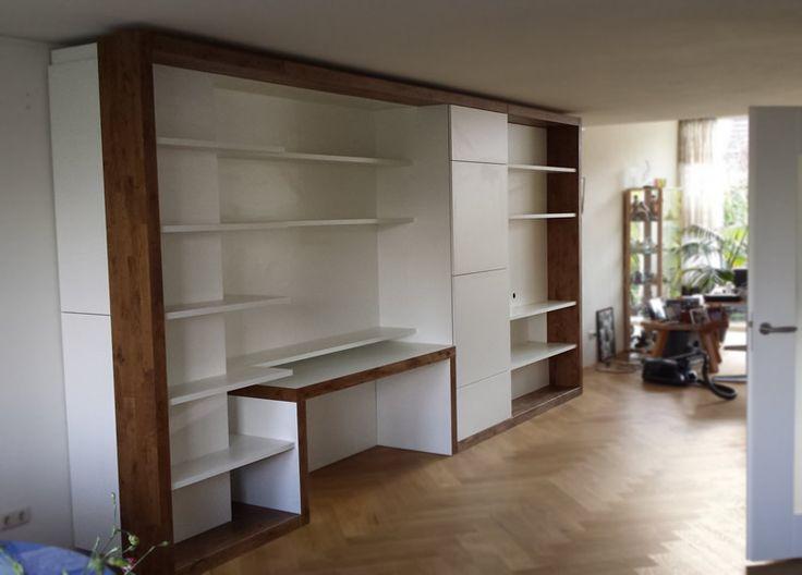 20 best wandmeubel   boekenkast   op maat van meubelontwerper en ...