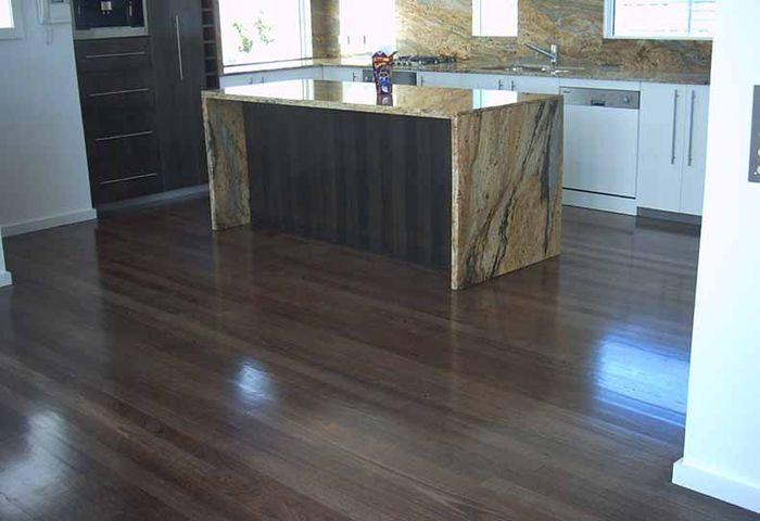 Stained Tasmanian Oak Floorboards
