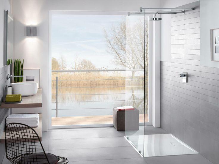 Nieuw bij Villeroy & Boch zijn de ultravlakke douchebakken zonder opstaande rand uit de serie Architectura Metalrim. Verkrijgbaar in 3 vormen en 3 inbouwmanieren.  Meer info: www.villeroy-boch.be