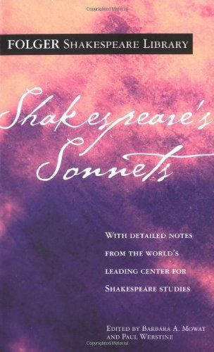 18 best poetry images on pinterest poem poetry and books to read shakespeares sonnets folger shakespeare library a book by william shakespeare fandeluxe Image collections