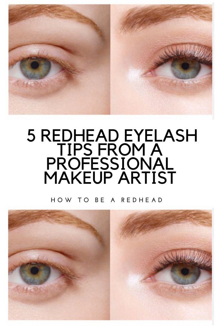 11 Redhead Eyelash Tips From a Professional Makeup Artist  Eyelash