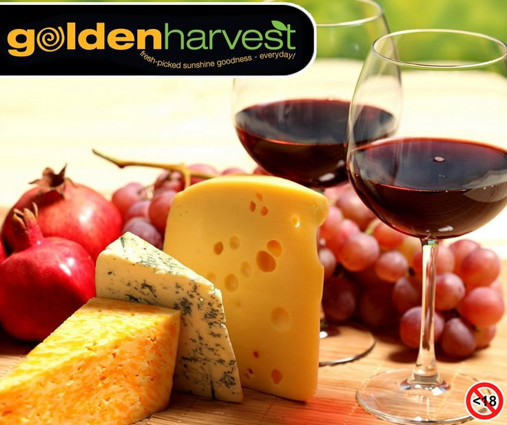 Today is National Wine and Cheese Day. The best way to celebrate is by gathering your family and friends, and hosting a wine and cheese tasting party. Visit your nearest #GoldenHarvest store and stock up on your favourite cheese and wine pair. Alcohol Not for sale to under 18s. Drink Responsibly. #NationalWineAndCheeseDay