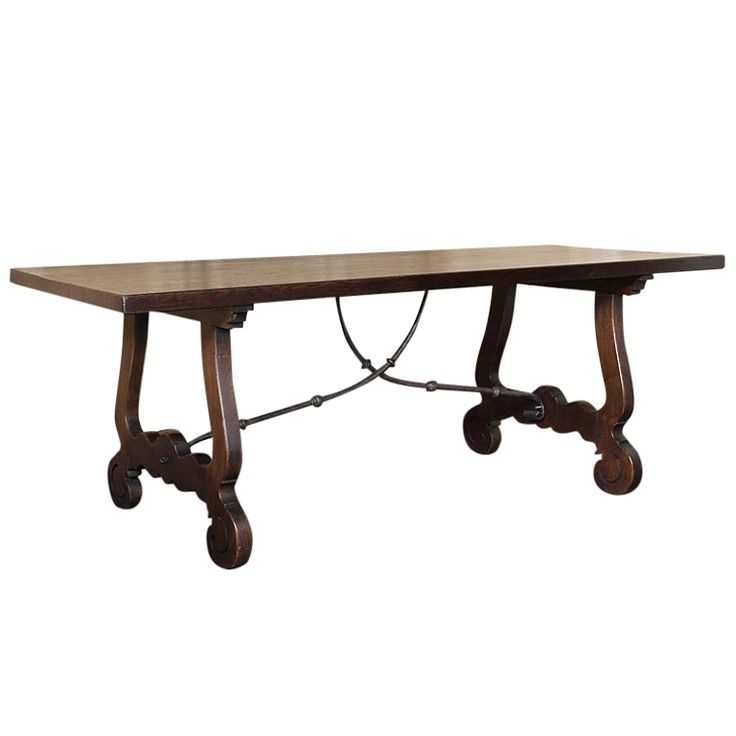 2400 Vintage Tuscan Dining Table
