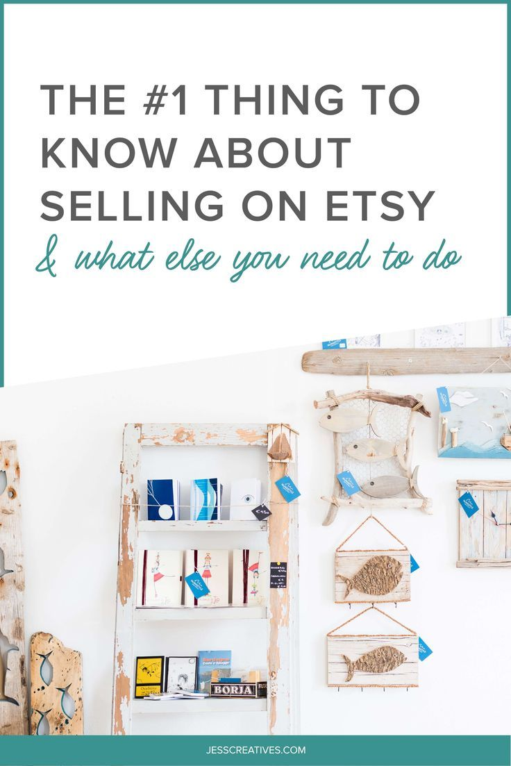 The #1 Thing To Know About Selling On Etsy -- Now, your website doesn't need to be the only place you sell your products. Selling digital products on multiple platforms can be a great idea, so if you're already using Etsy you can certainly stick with it. In this post, I'll explain more about why it's important to sell products on your own website even if you also decide to sell them on other online marketplaces (like Etsy).