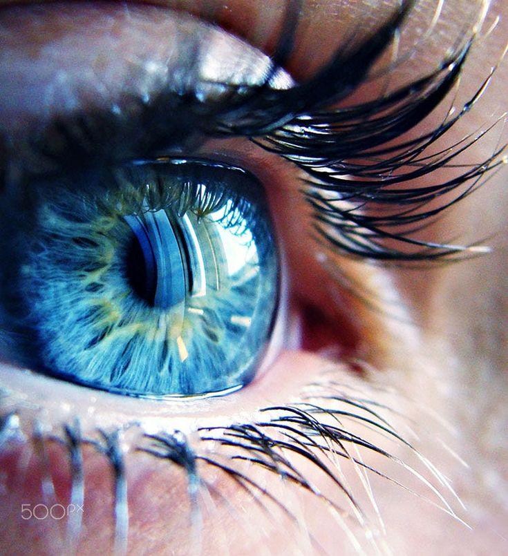 Красивые картинки про голубые глаза