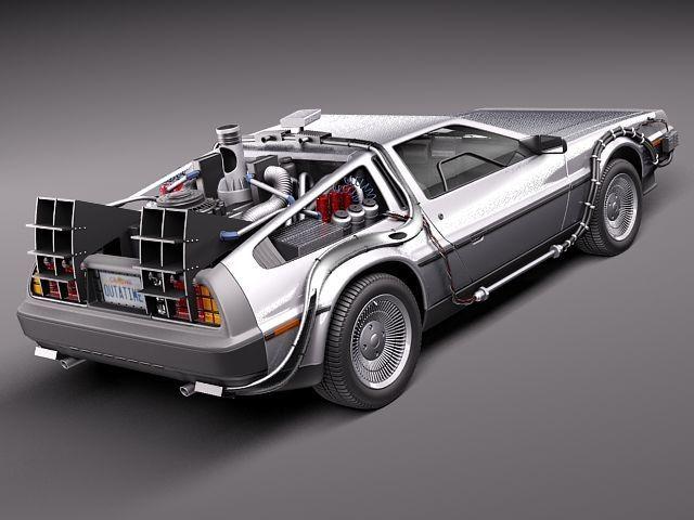 Delorean Dmc 12 Sport Future 3d 3ds Delorean Back To The Future