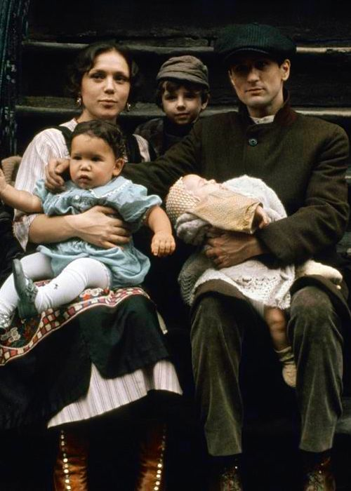 Vito Corleone. The early years. The Godfather: Part II. '74.