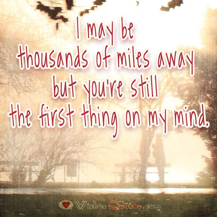 Long Distance Relationship Quotes and Messages | Distance