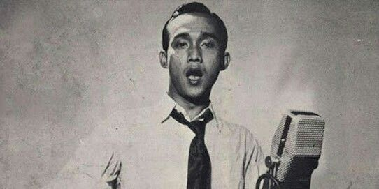 Bing #indonesian #actor #classic #musician #legendary #bw #oldies #singer #hairstyle #style