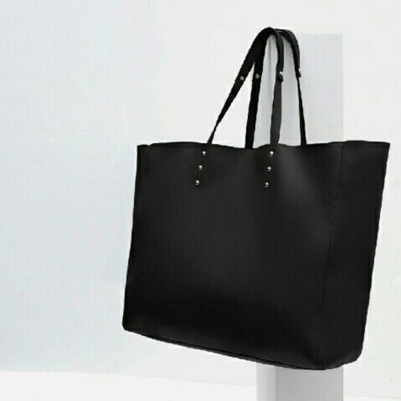 New Zara Tote Bag (original) Super cute New with tags original Zara Tote Bag Zara Bags Totes