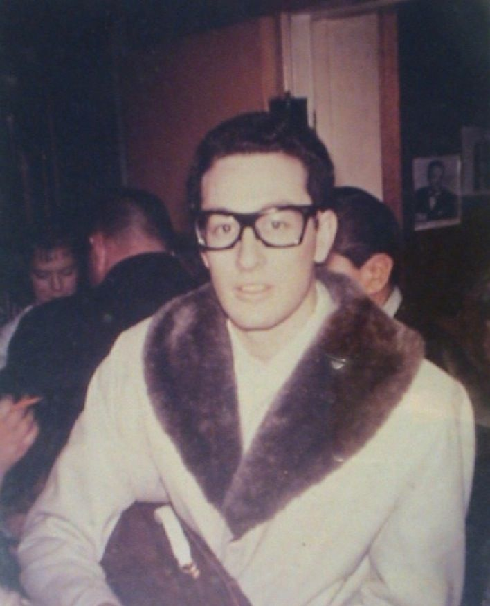 Buddy Holly. Last known photo. A day or two before the fatal plane crash in Clear Lake, IA.