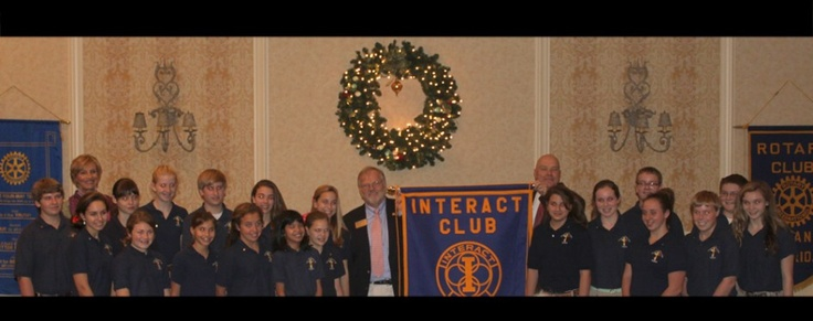 St. Barnabas Episcopal School is the first middle school in the nation to become a Rotary International Interact Club.