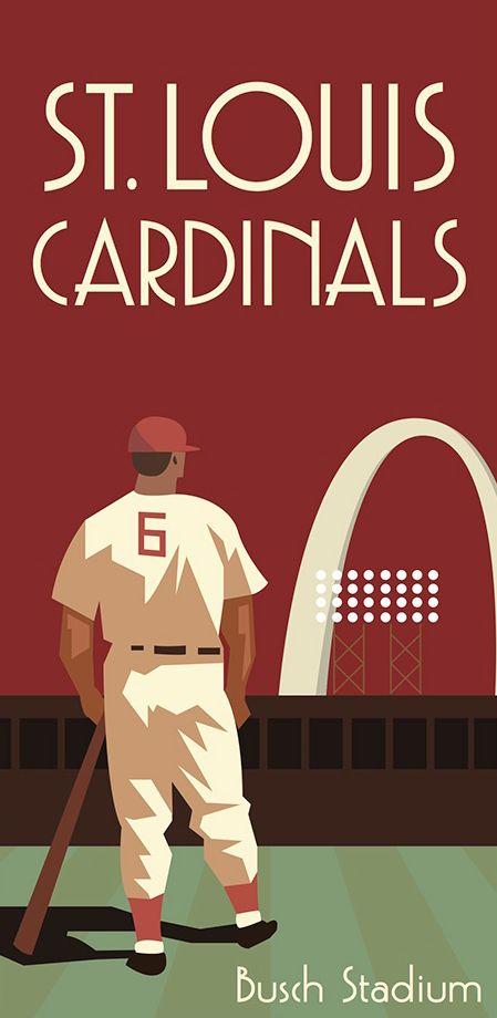 St. Louis Cardinals, Busch Stadium by Sarah Bladdick