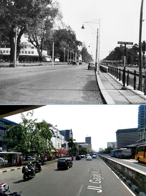 Hotel Des Indes in Molenvliet West te Batavia, 1930 1942, ,., Carrefour , Duta Merlin, jl Gajah Mada, Jakarta, 2015