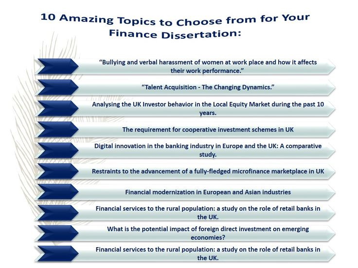 If you are a finance student, by now you be aware of the fact that the finance sector is a vast range of businesses that handle money. It includes banking, investments, foreign exchange, insurance, etc. As a post graduate or a PhD student, writing a dissertation by & help. Here 10 amzing topics to choose from for your Finance Dissertation provided by dissertation experts.