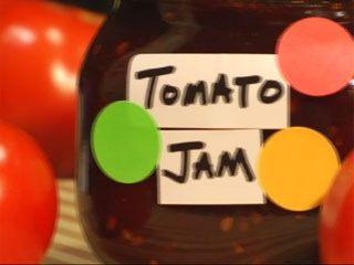 Tomato jam: Tomato Jam, Tomatoes Sauces, Sassy Tomatoes, Tomatoes Jam, Summer Tomatoes