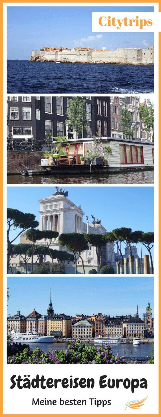 Städtereisen Europa Tipps - Meine besten Tipps für Städtereisen in Europa. Diese Städtetrips eignen sich wunderbar für ein Wochenende.