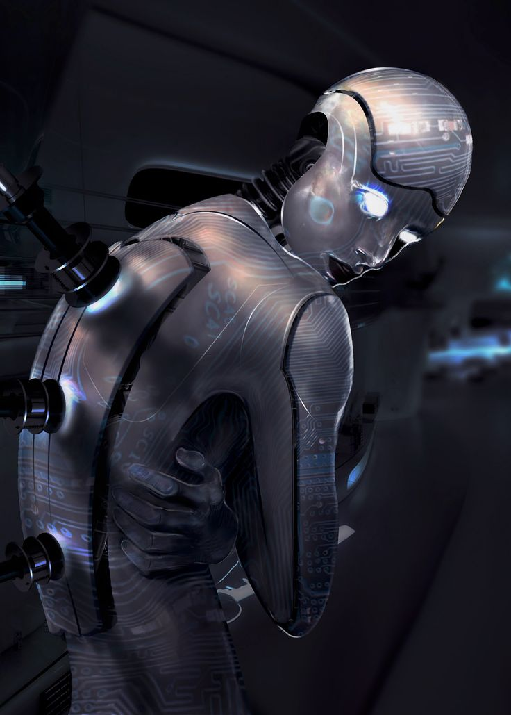 Cyborg boy sci fi future robot cyber