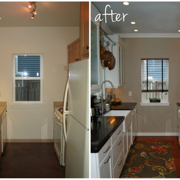 Remodeling Small Kitchen Before And After