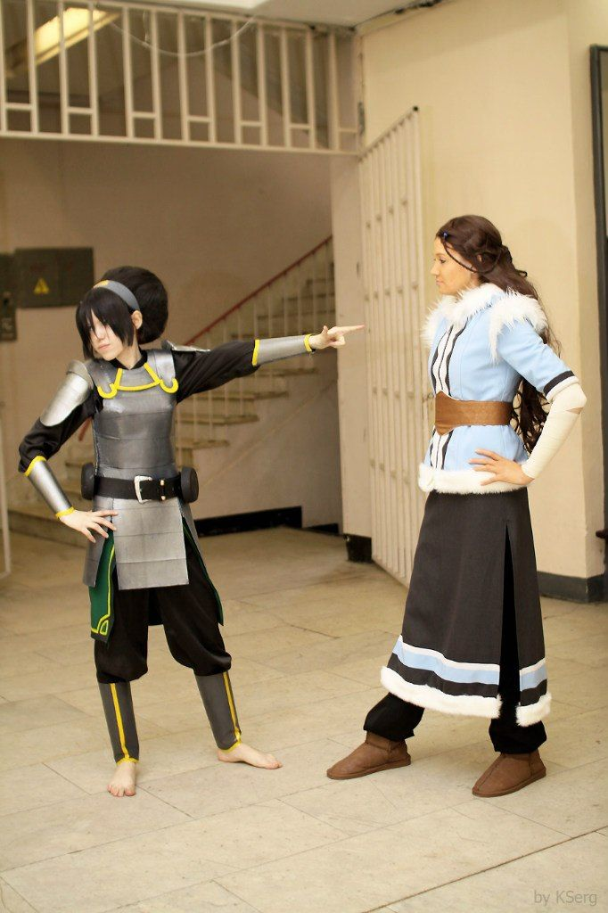 Toph, Katara - Go away! by TophWei.deviantart.com on @deviantART