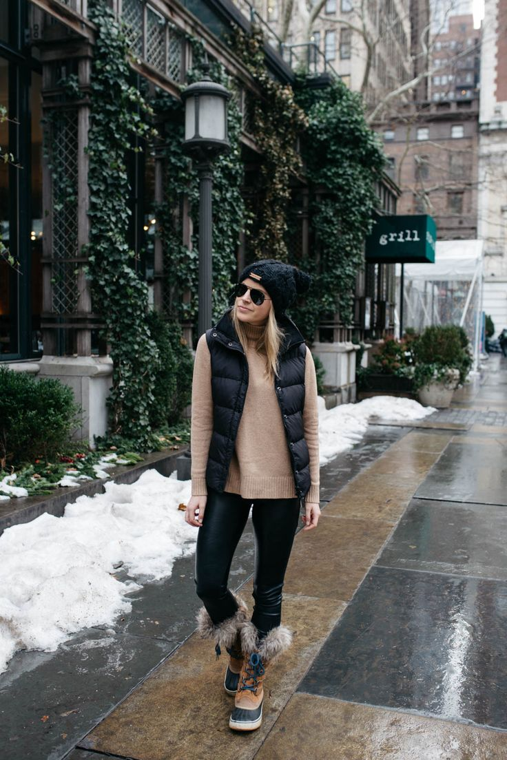Sorel Women's Joan of Arctic Boot | Cozy Winter Outfit Idea