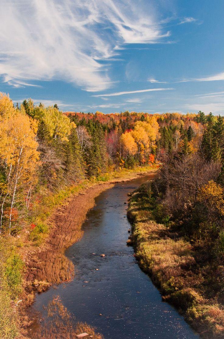 L'automne au Nouveau-Brunswick, Canada | Cocagne River