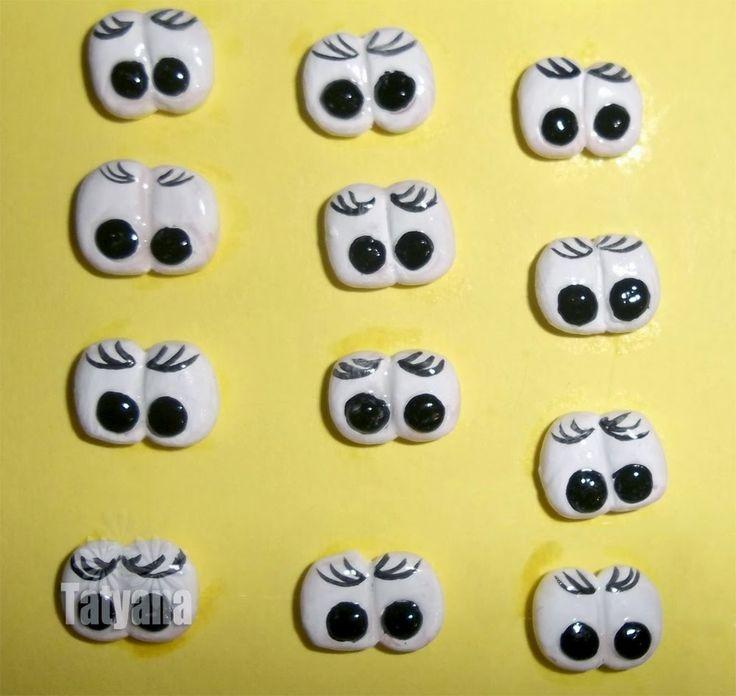 eyes for dolls DIY (Глазки для игрушек своими руками - МК)