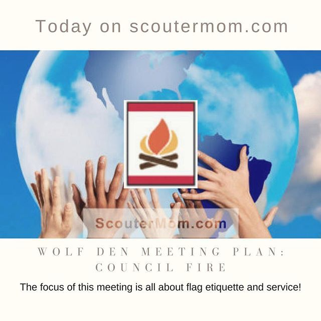 http://sctmom.com/2EtXMpH This Wolf den meeting plan covers the requirements for the Council Fire adventure. The focus of this meeting is all about flag etiquette and service! #CubScouts #BSA #DutyToCountry #Scouting