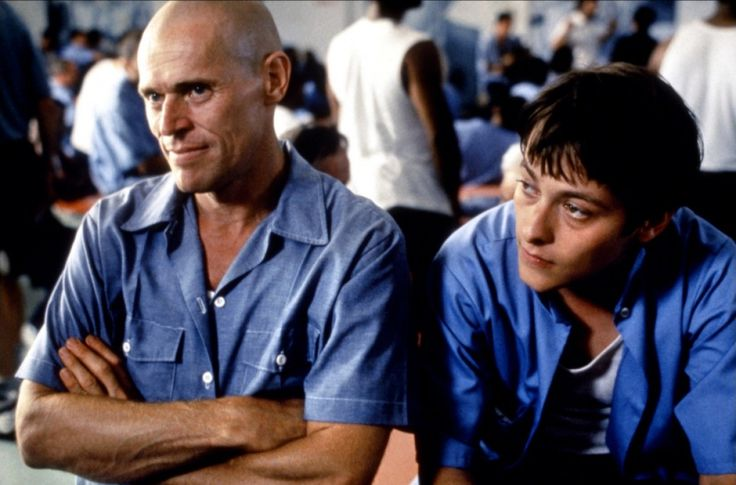 Animal Factory 2000 A young man goes to prison and befriends a harden criminal, learning the way it works from the inside. This is a raw film, directed by Steve Buscemi of all people, and it is very underrated. Willem Dafoe was terrific as always. http://www.imdb.com/title/tt0204137/?ref_=nv_sr_3