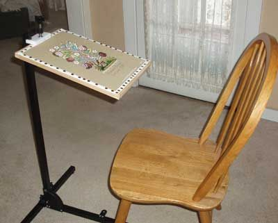 needlework system 4 embroidery and needlepoint floor stand - Embroidery Frame