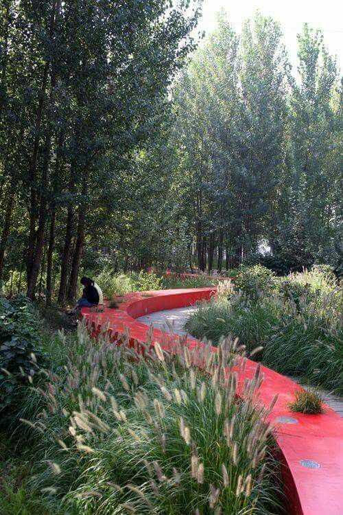 Qinhuangdao Red Ribblon park