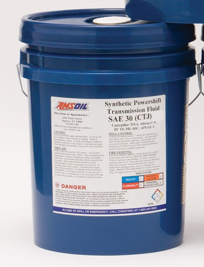 Synthetic Powershift Transmission Fluid Sae 30 Synthetic Oil