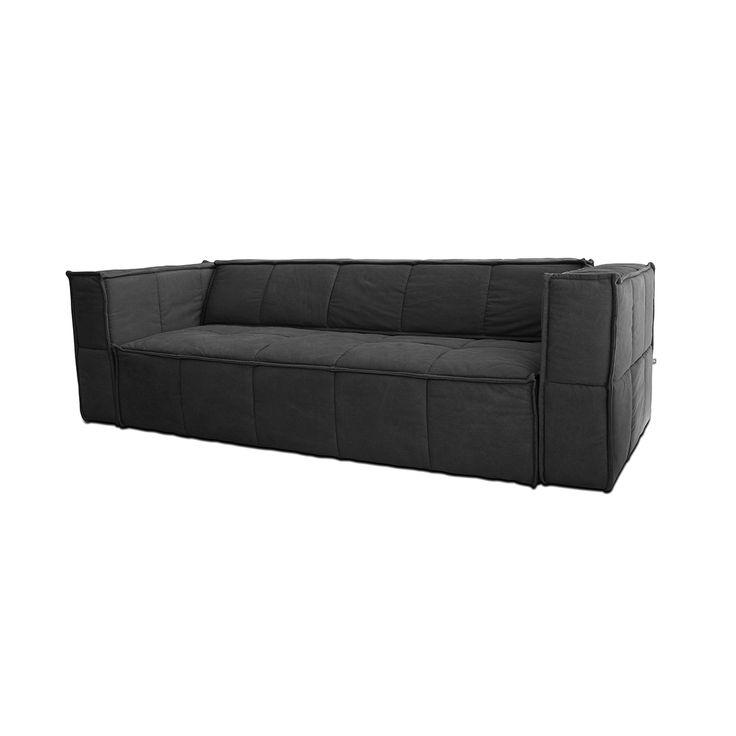 HK Living Charcoal Sofa