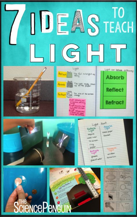 7 Ideas for Light-- video clips, activities, vocabulary,  a free sort, and a free periscope project.  Learn more!